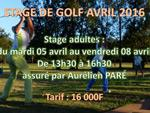 Stages avril 2016